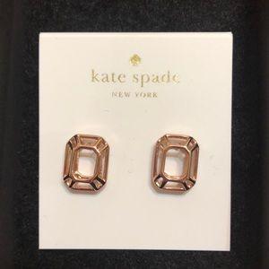 Kate Spade Brand New Rose Gold Earrings